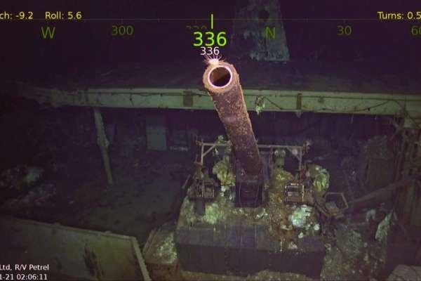 「大黃蜂」找到了!美國二戰傳奇航母77年前遭日軍擊沉,竟在5400公尺深海現蹤…