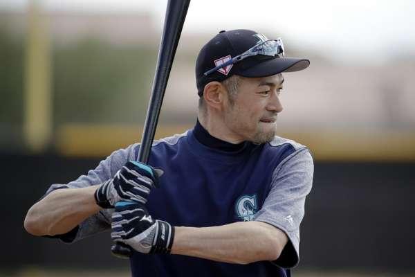 MLB》鈴木一朗春訓首亮相 體脂7%竟是全隊最低!