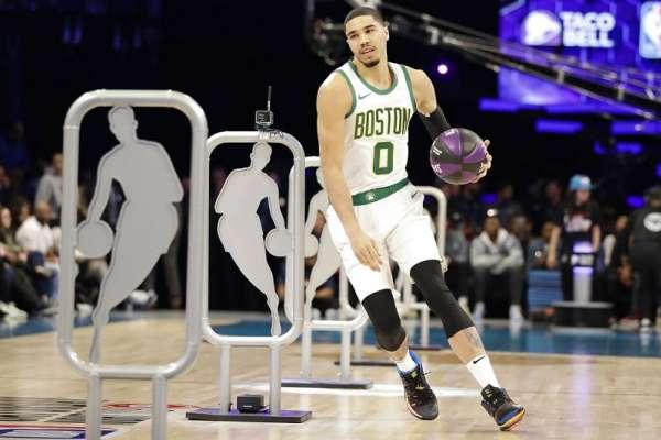 NBA》泰托姆用大號三分贏得技術挑戰賽 連楊恩都沒想到
