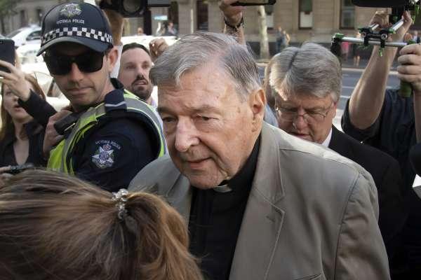 澳洲樞機主教性侵案》教宗方濟各重臣佩爾首度入監 最終判決3月13日出爐