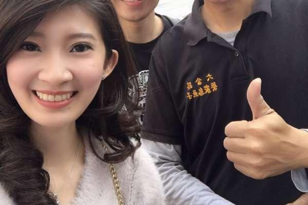 「最美主持人」替韓國瑜抱不平:台北高雄都淹水 卻只有他被黑