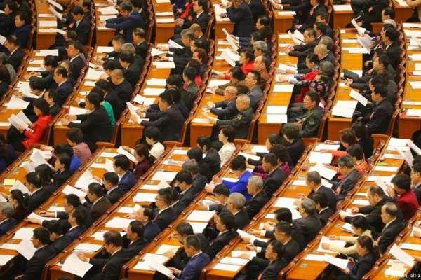 只談經濟、莫談政治》中國「橡皮圖章」政協會議開幕《外商投資法》備受關注