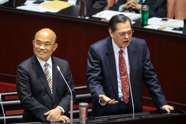 立委質疑窄化和平協議「堵死自己」 陳明通:若北京放棄對台動武,就不需簽署