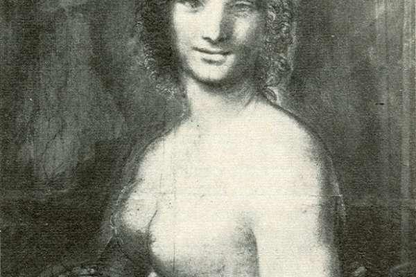 達文西筆下裸女《蒙娜瓦納》是誰?專家有新解:「她」不是輕解羅衫的蒙娜麗莎,而是達文西的俊美男學徒