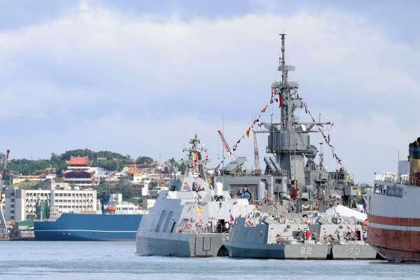 濟陽級寧陽軍艦停泊時遭撞擊  海軍:將依法求償