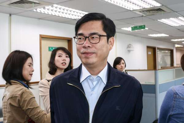 立委補選》民進黨打恐嚇牌?陳其邁:中國飛彈對台灣才是恐嚇牌