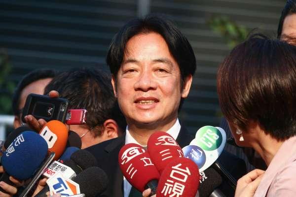 「打一場讓台灣社會感動的初選」 賴清德籲派系休兵:大家不必選邊站