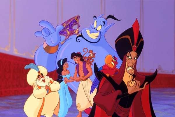 阿拉丁原本是中國人?為何卡通「阿拉丁」中燈神是藍色的?內行人道出經典動畫背後真相