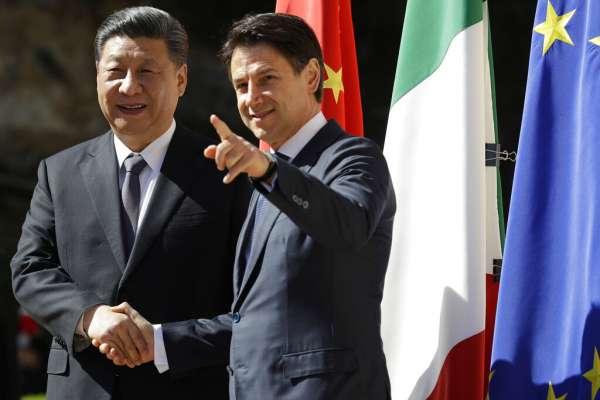 不顧歐盟反對!義大利與中國簽訂「一帶一路」備忘錄 恐將「特洛伊木馬」引進歐洲