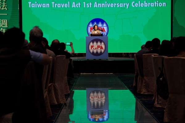 陳一新觀點:台灣在美中間左右逢源的槓桿,一去不復返?