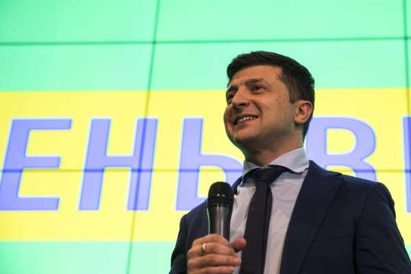 烏克蘭總統大選》喜劇演員哲連斯基、現任總統波洛申科出線 4月21日決選分勝負