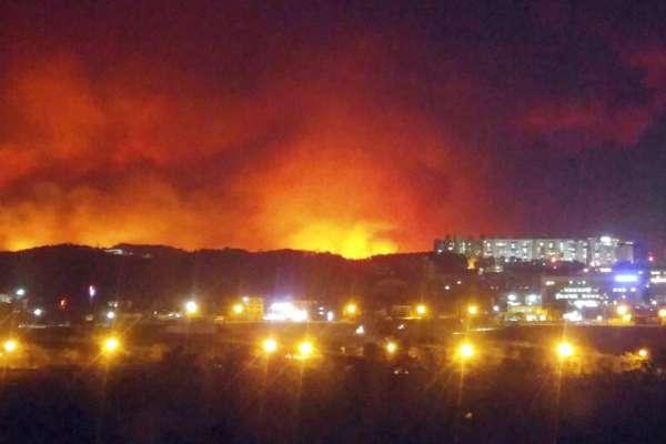 南韓宣布發生國家級災難:江原道森林大火迅速蔓延市區,逾萬人投入滅火戰
