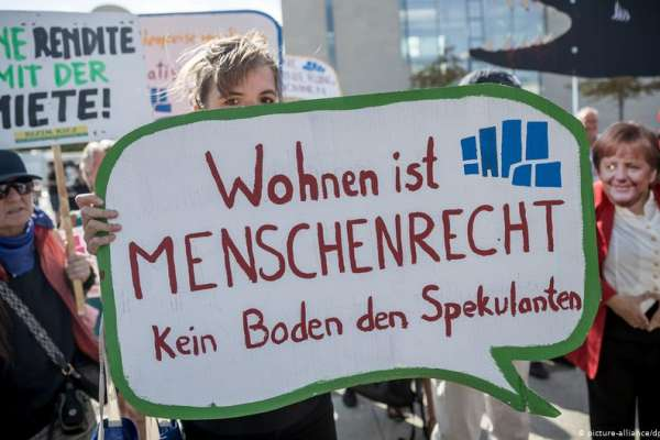 「瘋狂房租」激發民怨 德國發起全民公投:將大型房地產業者收歸國有!