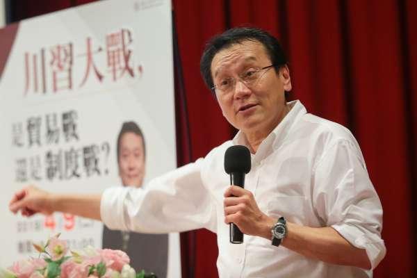 駐WTO代表朱敬一申請退職 31日生效