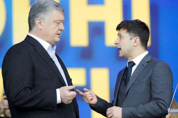 「五年前我投給你,我錯了」烏克蘭總統決選辯論登場 諧星候選人開嗆現任總統:你就是隻穿著羊皮的狼