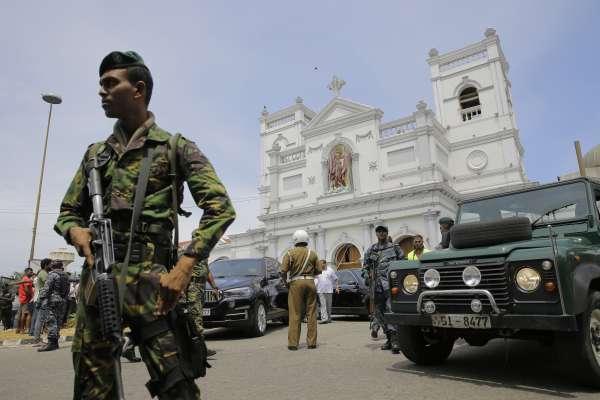 「印度洋珍珠」濺血!斯里蘭卡恐怖攻擊8連爆、逾600人死傷 政府緊急實施宵禁、關閉社群媒體