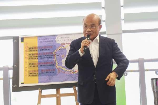 郭台銘嗆民進黨「假民主」 蘇貞昌反酸:敢戴國旗帽見習近平,才真正是大老虎!