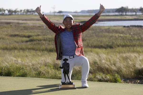 高球》潘政琮PGA奪首冠 實踐與父親承諾