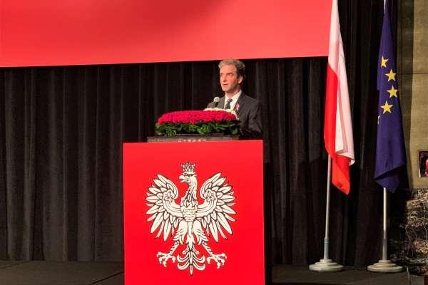 歡慶五三憲法日!波蘭臺北辦事處處長梅西亞:人權、法治、言論自由拉近與台灣關係