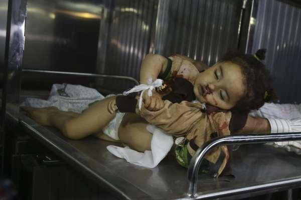 報復哈瑪斯攻擊》以色列政府軍轟炸加薩走廊 炸死一名孕婦與她14個月大的女兒