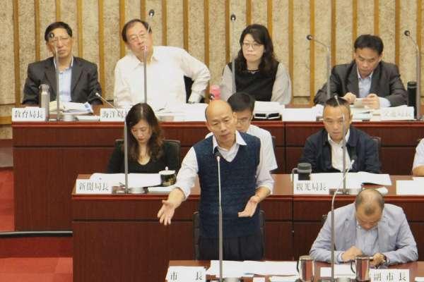 風評:除了選總統,韓國瑜「市長」還有更重要的事