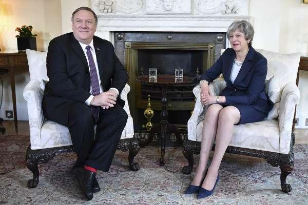 英國可能開放華為建設5G網路 美國務卿龐畢歐要梅伊選邊站