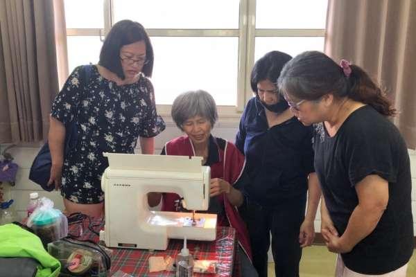 中市府招募環保裁縫師 回收旗幟再利用