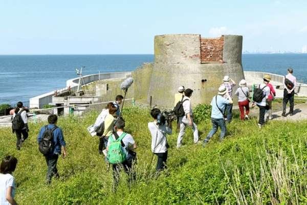 東京灣要塞「第二海堡」 全面開放團客登島觀光