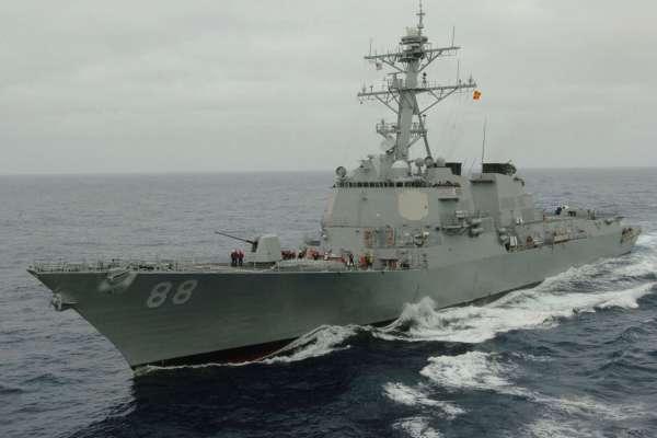 美神盾艦又來台灣海峽巡航!第七艦隊發言人:展現對自由開放的印度太平洋承諾