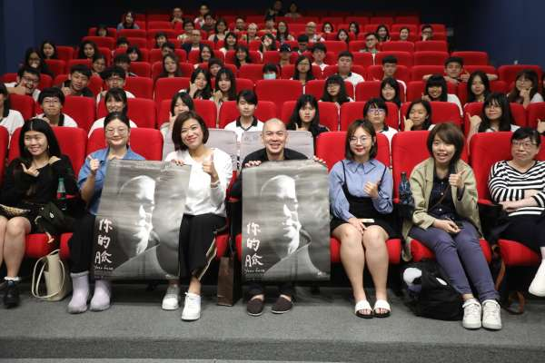 《你的臉》新北特映會   蔡明亮為學生上一堂影像課