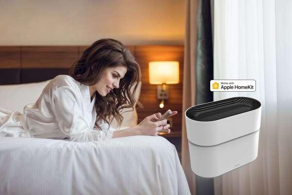 在家也能享受負離子 Opro9智能空氣淨化器一機多工