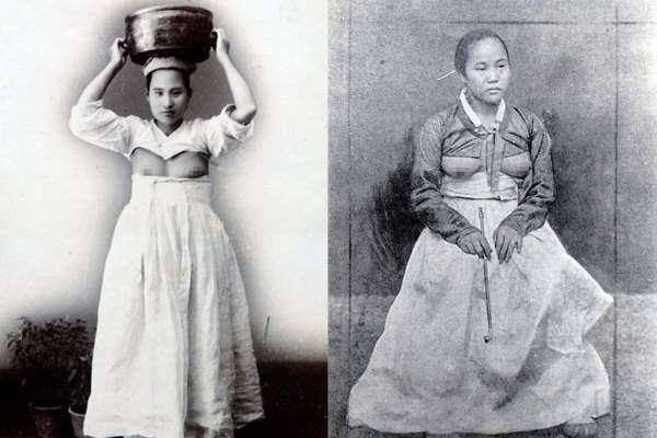 我露乳,我驕傲!一百多年前韓國「露乳裝」讓外國人超驚奇!揭這款傳統服飾背後秘密