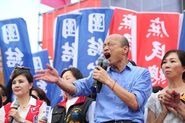 不知反送中惹議!香港議員涂謹申批「港人想飆髒話」 韓國瑜:別因晚回應就發言情緒化