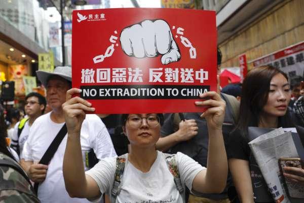 韓國瑜「不知」反送中》「中共委任特首賤視百萬民意」香港議員涂謹申:難以想像台灣民選市長如此回應