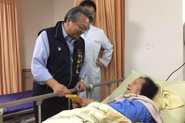 慰問霧峰青桐林園區傷者 市府諾持續提供照護