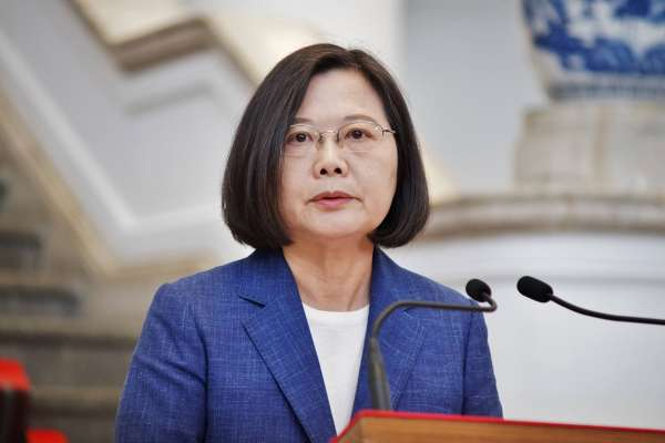 623反紅媒遊行》蔡英文:一起來把錯假訊息從台灣社會移除!