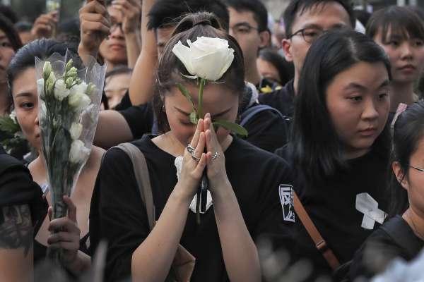 吳程遠觀點: 與香港同舟共濟,看不見台灣的覺醒
