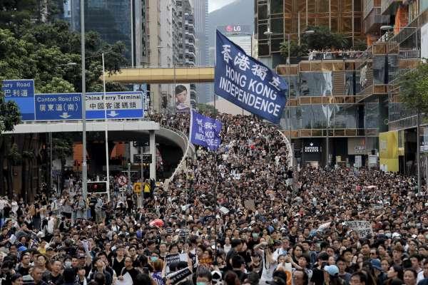 傳香港「反送中」示威者來台尋庇護 總統:基於人道,適當處理