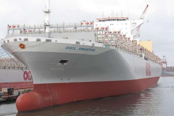 台船公司再創佳績 改造成功1.3萬TEU貨櫃輪