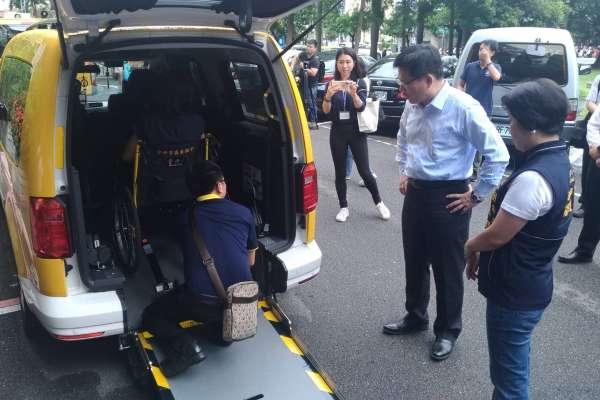 中市爭取通用計程車及小黃公車補助