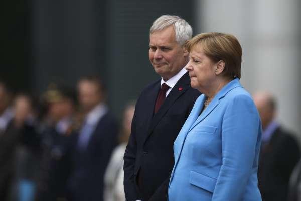 將迎接65歲大壽》3周出現3次身體顫抖狀況 德國總理梅克爾:大家別擔心