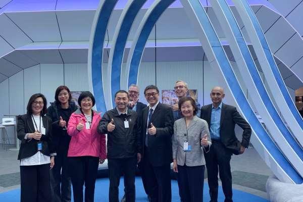諾基亞首度接待台灣地方首長 與侯友宜暢談5G網路發展