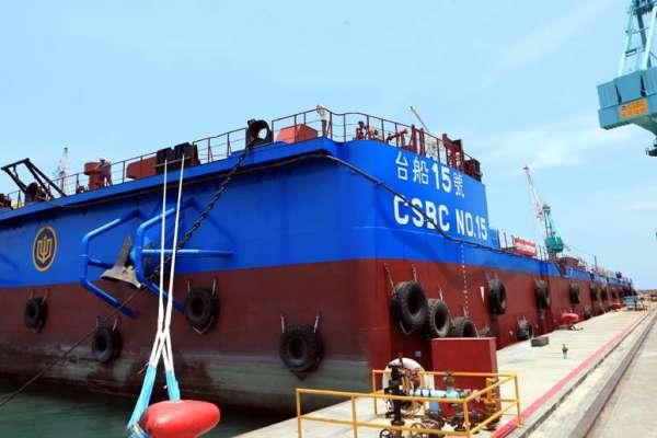 全台首艘離岸風電事業船 台船15號今首航