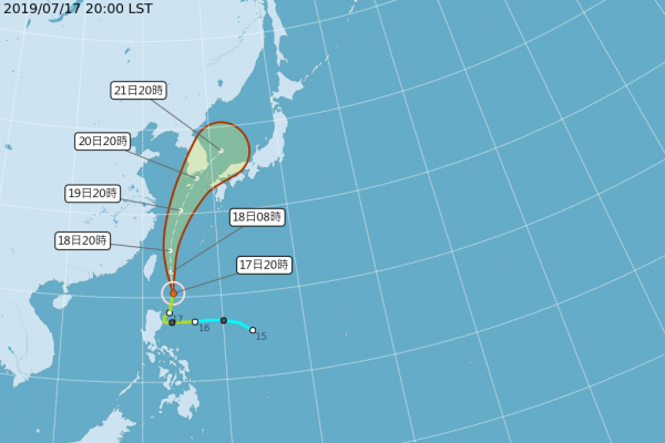 颱風丹娜絲陸警解除 宜蘭、新北山區恐大雨 中南部防淹水
