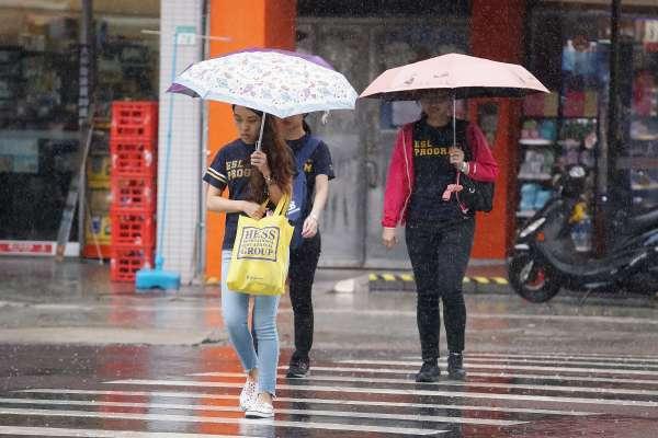 罷韓投票記得帶傘!中南部周末整天都可能下雨