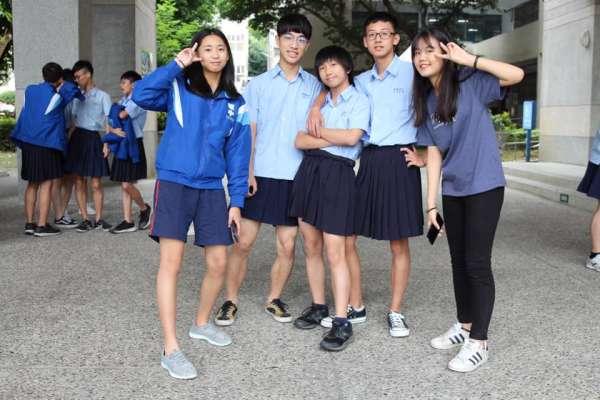 全國首例!板橋高中繼校慶「男裙週」活動後,學校正式開放「男生可穿裙上學」