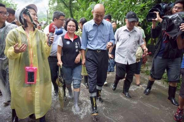 高雄豪雨成災 韓國瑜入山區勘災指示先做這些事…
