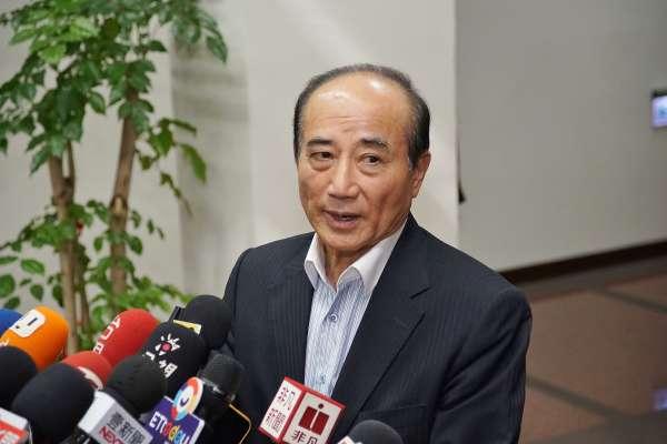 王金平:參選總統立場沒有改變