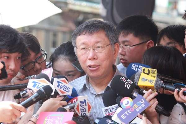 遭館長、蔣月惠質疑中心思想 柯文哲:就是台灣整體利益、人民最大福祉