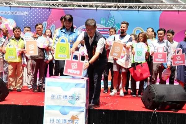 袋袋相傳 中市89家二手袋回收站環保袋免費借用